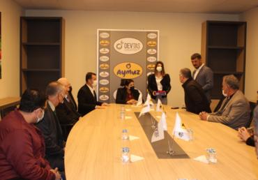 Irak Tarım Bakanı Begard Talabani Tesisimizi Ziyaret Etti.