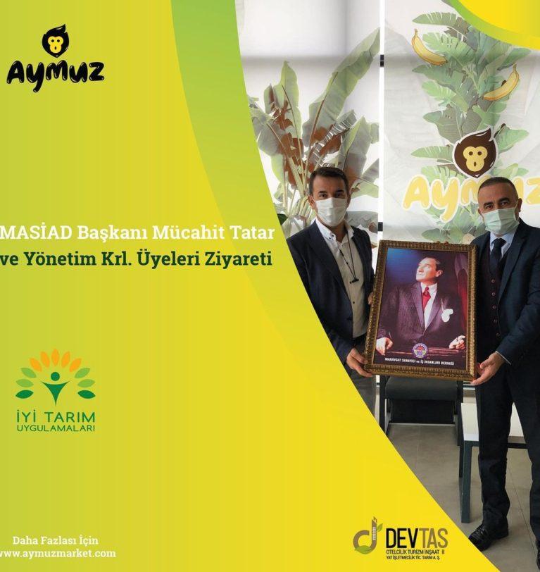 Masiad Başkanı Sn. Mücahit TATAR ve Yönetim Kurulu Üyeleri Tesisimizi Ziyaret Etti.