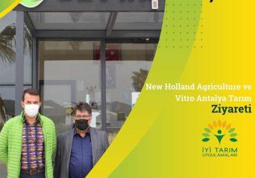 VİTRO TARIM VE NEW HOLLAND AGRİCULTURE FABRİKAMIZDA